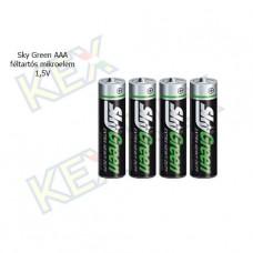 Sky Green AAA féltartós mikroelem 1,5V