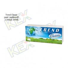 Trend Classic papír zsebkendő 3 rétegű 100db