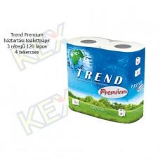 Trend Premium toalettpapír 3 rétegű 120 lapos 4 tekercses