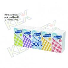 Harmony Prima papír zsebkendő 3 rétegű 10db
