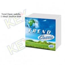 Trend Classic szalvéta 1 rétegű 30x30cm 60db