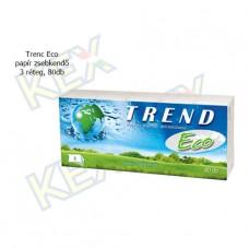 Trend Eco papír zsebkendő 3 réteg, 80db