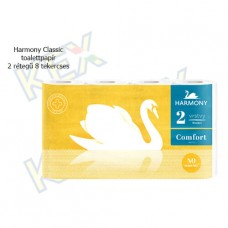 Harmony Classic toalettpapír 2 rétegű 8 tekercses
