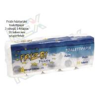 Frizbi háztartási toalettpapír 3 rétegű 140 lapos 10 tekercses