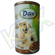 Dax kutyakonzerv máj 1240g