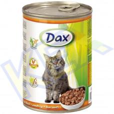 Dax macskakonzerv baromfi 415g