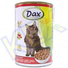 Dax macskakonzerv marha 415g