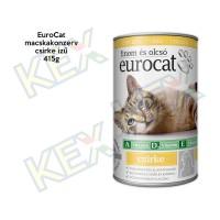 EuroCat macskakonzerv csirke ízű 415g