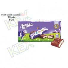 Milka táblás csokoládé Milkinis 87,5g