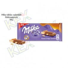 Milka táblás csokoládé földimogyorós 90g