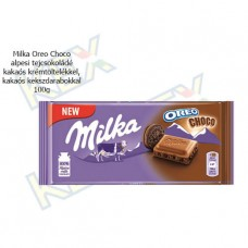 Milka táblás csokoládé Oreo Choco 100g