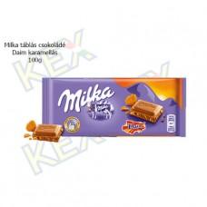 Milka táblás csokoládé Daim darabokkal 100g