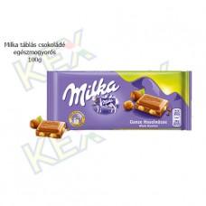 Milka táblás csokoládé egészmogyorós 100g