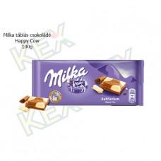 Milka táblás csokoládé Happy Cow 100g