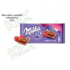 Milka táblás csokoládé málnakrémes 100g