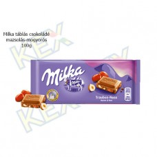 Milka táblás csokoládé mazsolás-mogyorós 100g