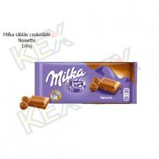 Milka táblás csokoládé Noisette 100g