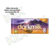 Milka Darkmilk tábla sós karamella ízű 85g