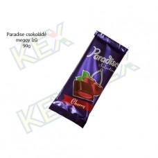 Paradise táblás tejcsokoládé meggy ízű krémmel 90g