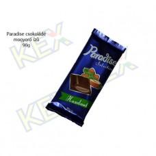Paradise táblás tejcsokoládé mogyoró ízű krémmel 90g