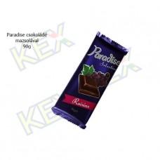 Paradise táblás tejcsokoládé mazsolával 90g