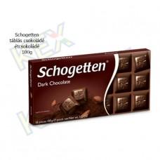 Schogetten táblás csokoládé étcsokoládé100g