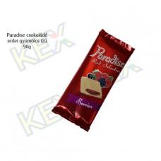 Paradise táblás tejcsokoládé erdei gyümölcs ízű 90g