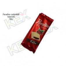 Paradise táblás tejcsokoládé kávé ízű krémmel 90g