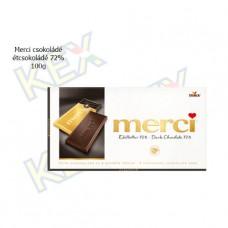 Merci táblás csokoládé étcsokoládé 72% 100g