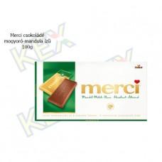 Merci táblás csokoládé mogyoró-mandula ízű 100g