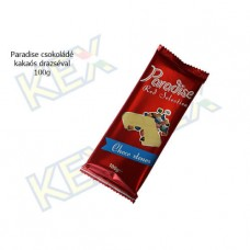 Paradise táblás tejcsokoládé kakaós drazséval 100g