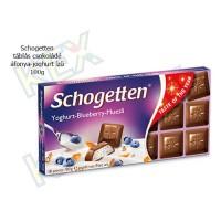 Schogetten táblás csokoládé áfonya-joghurt ízű 100g