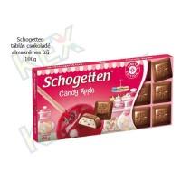 Schogetten táblás csokoládé almakrémes ízű 100g