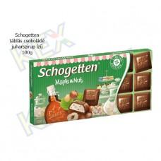 Schogetten táblás csokoládé juharszirup ízű 100g