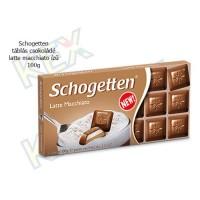 Schogetten táblás csokoládé latte macchiato ízű 100g