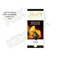Lindt Excellence táblás étcsokoládé narancs ízű 100g