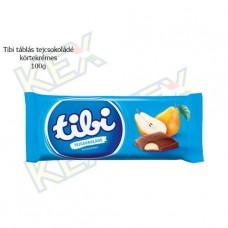 Tibi táblás tejcsokoládé körtekrémes 100g