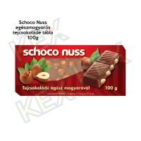 Schoco Nuss egészmogyorós tejcsokoládé tábla 100g