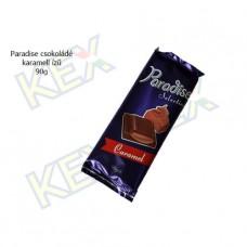 Paradise táblás tejcsokoládé karamell ízű krémmel 90g