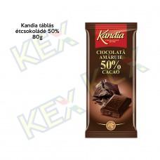 Kandia táblás étcsokoládé 50% 80g