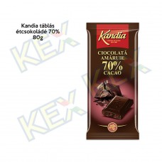 Kandia táblás étcsokoládé 70% 80g