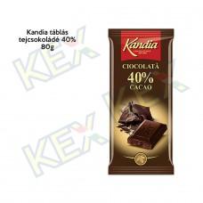 Kandia táblás tejcsokoládé 40% 80g