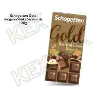 Schogetten Gold mogyoró-kakaó ízű 100g