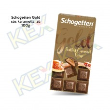 Schogetten Gold tábla sós karamella ízű 100g