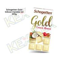 Schogetten Gold kókusz-mandula ízű 100g