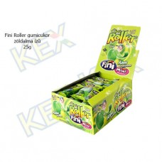 Fini Roller gumicukor zöldalma ízű 25g