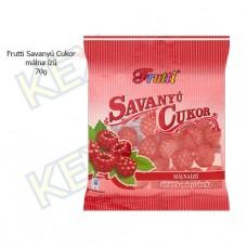 Frutti savanyú cukor málna ízű 70g