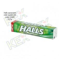 Halls spearmint mild mentol cukor 33,5g
