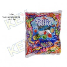 Elvan Toffix vegyes gyümölcs cukor 1kg
