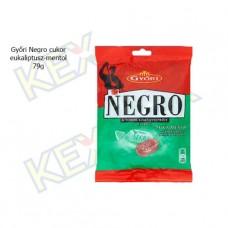 Győri Negro cukor eukaliptusz-mentol 79g